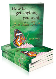 How to get anything you like Just Like That - Janet Poole