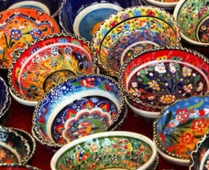 Colorful Turkish Bowls