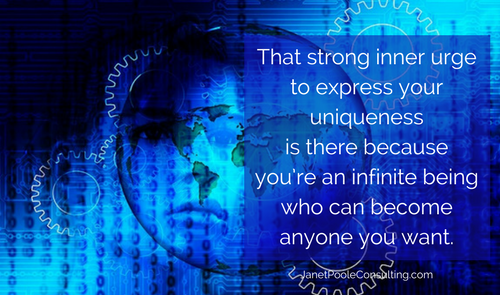 You have a strong inner urge to express ourselves
